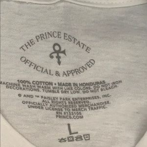 Prince Tops - Prince unique black and white photo t-shirt NWT